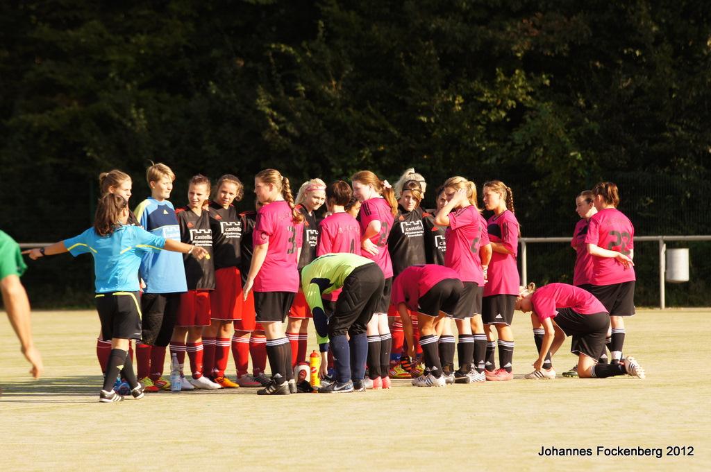 VfL Grafenwald: Damenfußball Saison 2012/2013 Hinrunde